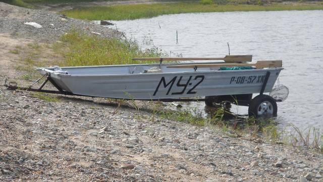 металл и толщина у лодке казанка