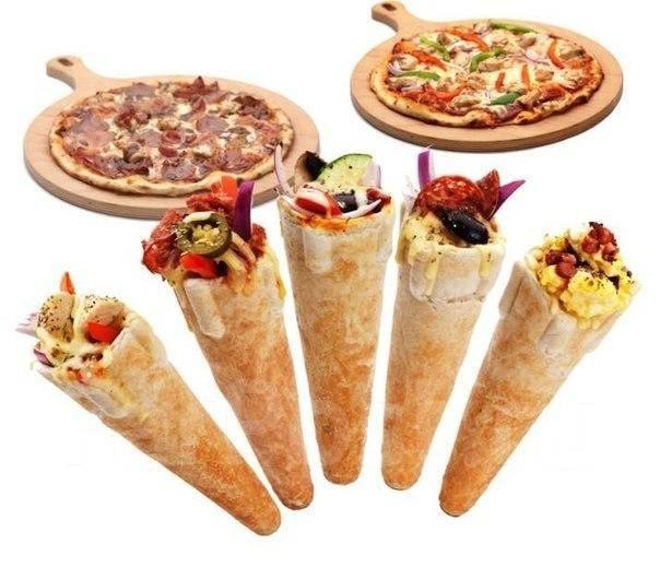 Прес печь конусов для пиццы - Оборудование для бизнеса