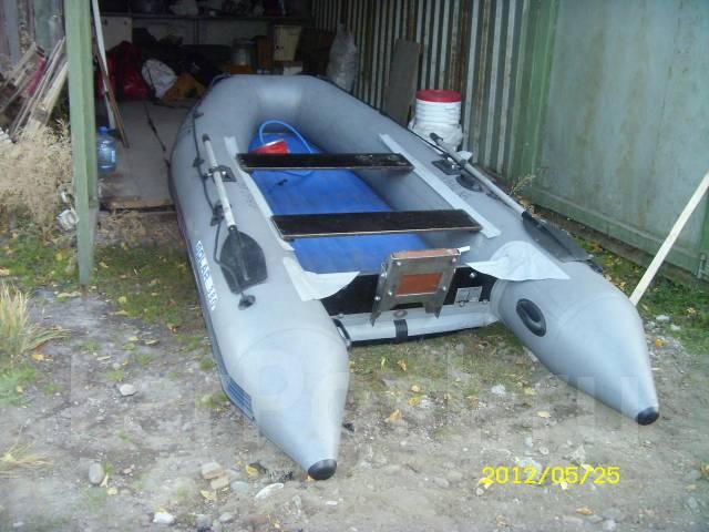 водометный мотор на лодке пвх