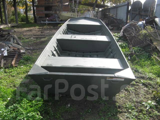 Лодка плоскодонка из оцинковки