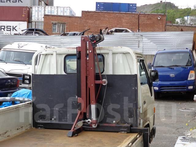 Мини кран на грузовиках своими руками