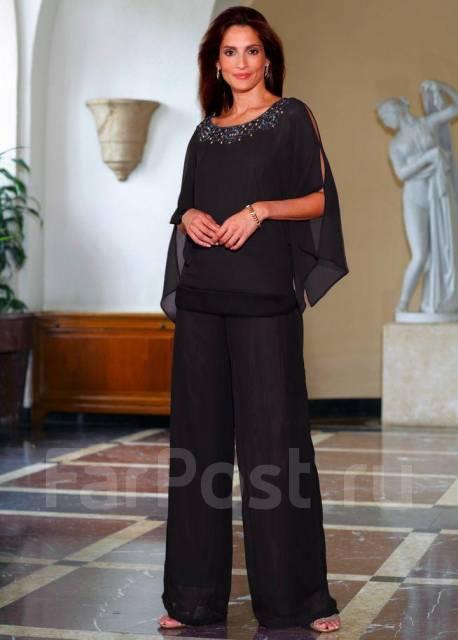 Летний брючный костюм женский из шифона платья больших размеров в одессе недорого