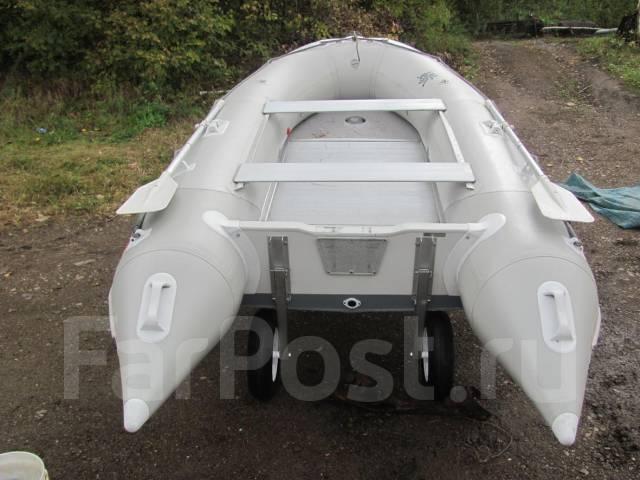 лодка пвх badger duck line 370
