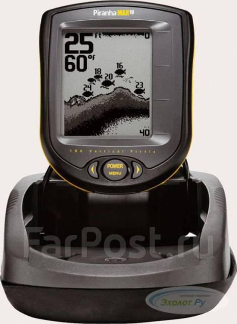 эхолот humminbird piranhamax 180 portable