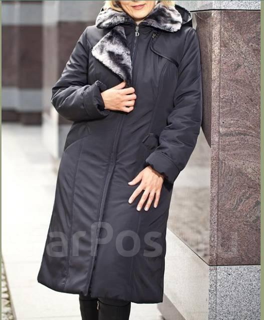 Модные зимние пальто больших размеров