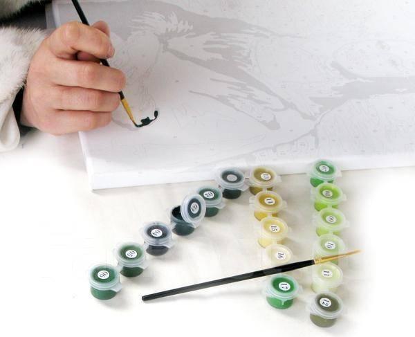 Картины раскрасить своими руками