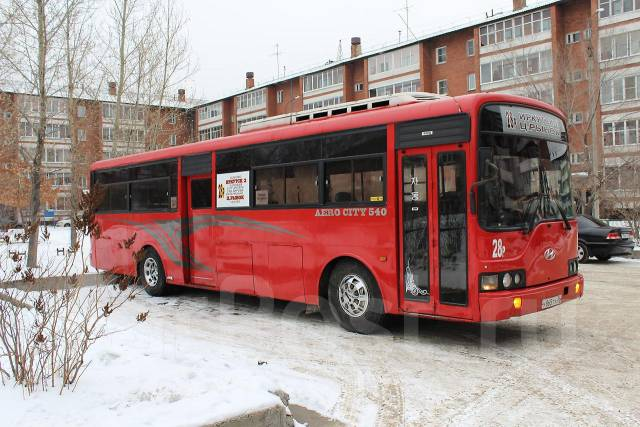 hyundai aвтобус: