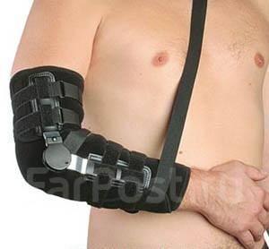 лангета на голеностопный сустав