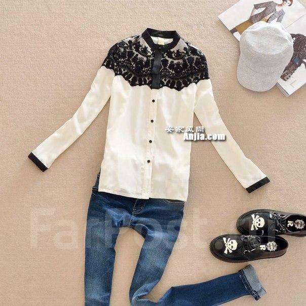 Шикарные белые блузки доставка