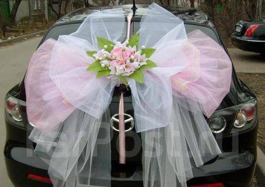 машина с бантом фото | Фото | Автомобили: http://avto.bigbo.ru/?p=6190