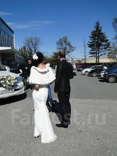 Продам свадебное платье гипюровое со