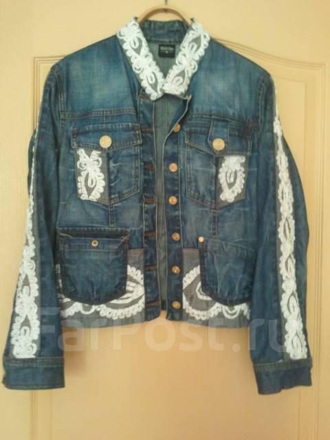 Куртка джинсовая донецк