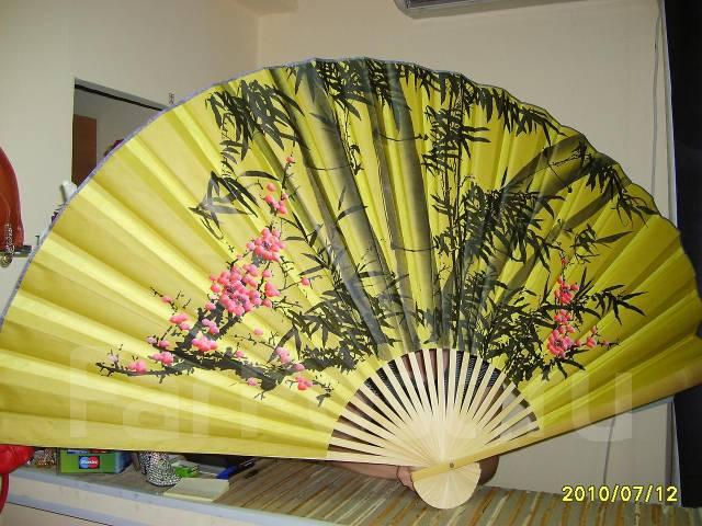 Китайский веер своими руками фото