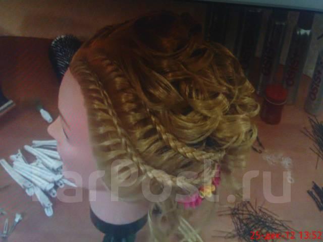 Коса праздничная плетение