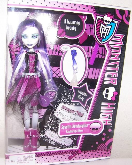 Monster High(Школа Монстров) Спектра базовая! В Наличии - Игрушки ...