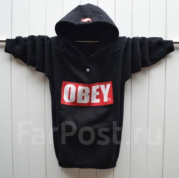 Толстовка obey черная ххл - Спортивная одежда во Владивостоке