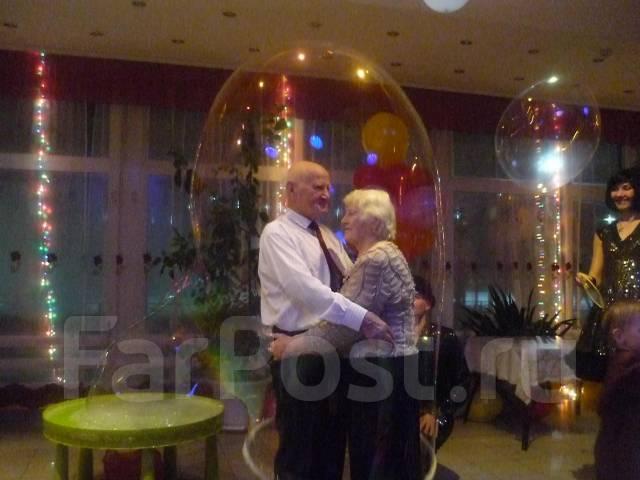 Волшебное ШОУ мыльных пузырей на Вашу свадьбу!