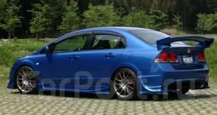 Порог пластиковый. Honda Civic, FD2, FD1 Двигатель P6FD1