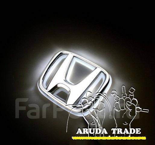 Подсветка под логотип, эмблему Honda (Хонда) Белый. Отправка по РФ. Honda Insight Honda Fit