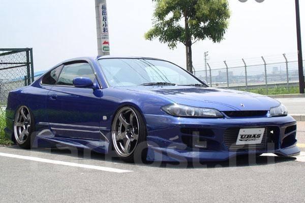 Обвес кузова аэродинамический. Nissan Silvia, S15 Nissan Vanette Van Truck Двигатель GAS15