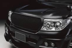 Решетка радиатора тюнинг черная сетка LAND Cruiser 200. Toyota Land Cruiser, UZJ200