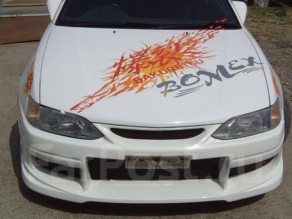 Обвес кузова аэродинамический. Toyota Corolla Levin, AE110, AE111