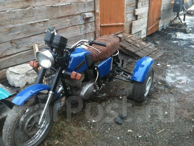 Трайк из мотоцикла иж своими руками 98