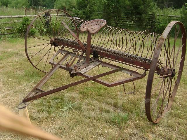 Грабли и косилка под автомобиль или трактор - Навесное и дополнительное оборудование