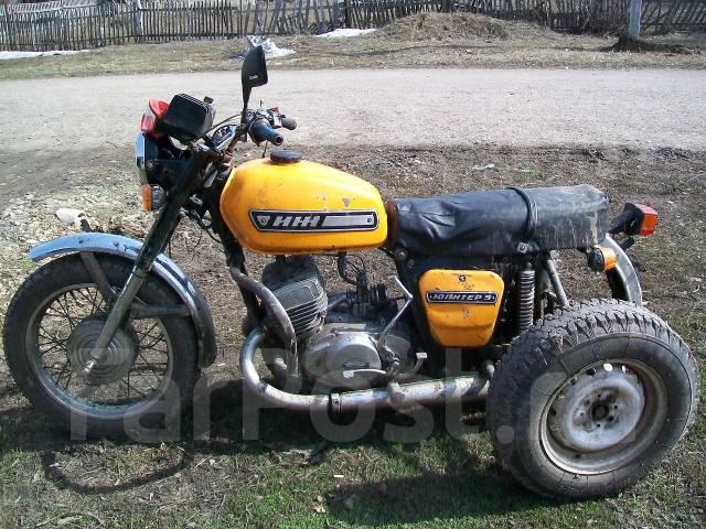 Иж трицикл юпитер 5 - Иж Юпитер 5, 1992 - Продажа мотоциклов в Барнауле
