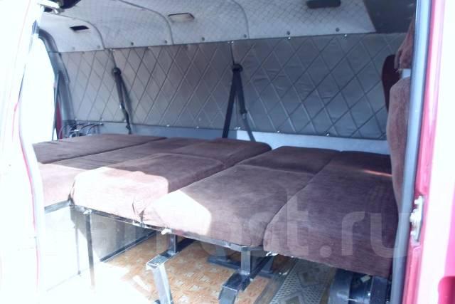 Спальное место в микроавтобусе своими руками