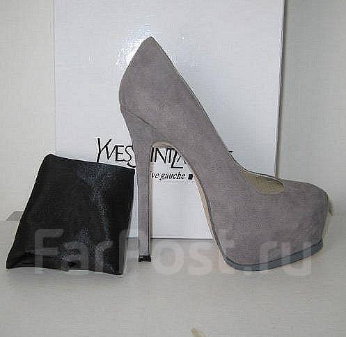 модные туфли черного цвета на шпильках