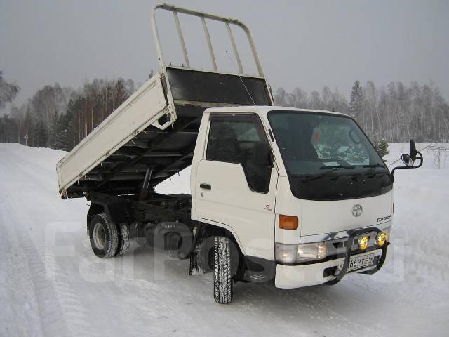 Самосвал из японского грузовика своими руками видео