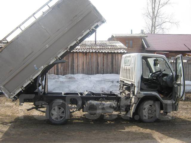 Как переделать бортовой грузовик на самосвал своими руками