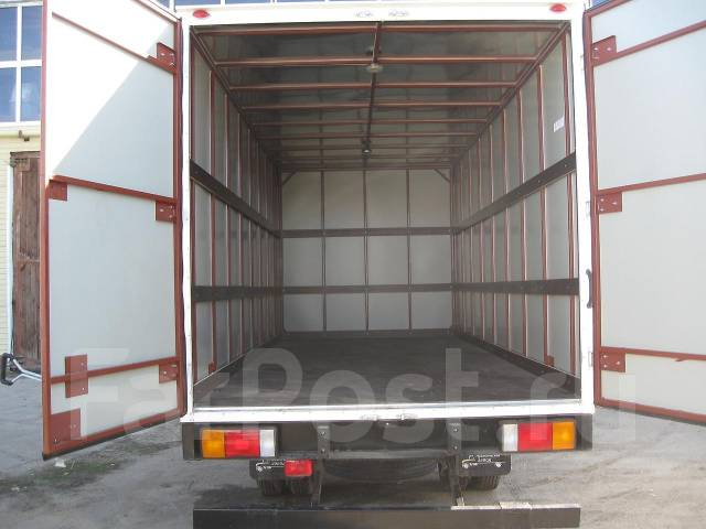 Промтоварный фургон своими руками