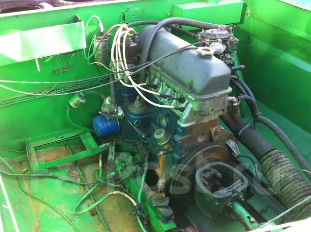 установка автомобильного двигателя на лодку