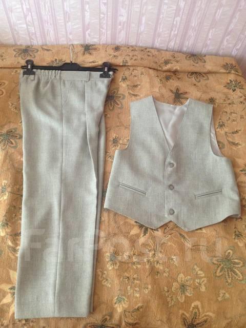 Костюм жилетка и брюки