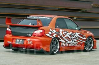 Бампер. Subaru Impreza WRX STI