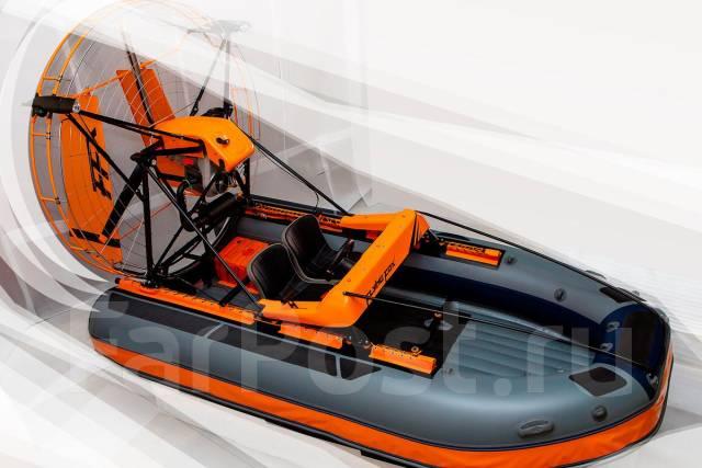 Аэролодка из лодки пвх