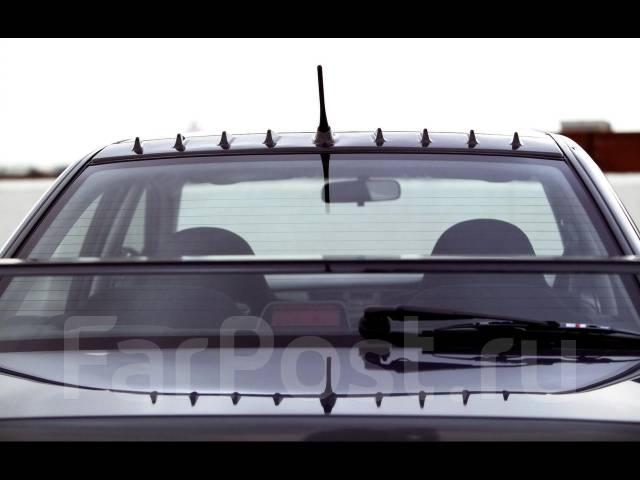 Спойлер на заднее стекло. Mitsubishi Lancer Evolution