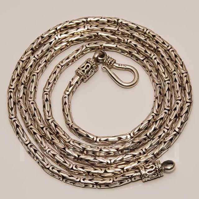 Плетение лисий хвост серебро