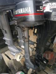 Yamaha. 5,00л.с., 4х тактный, бензин, нога X (635 мм), Год: 2001 год. Под заказ