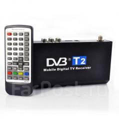 Цифровой TV - тюнер DVB-T2. Воспроизводит Видео и Аудио файлы с USB.