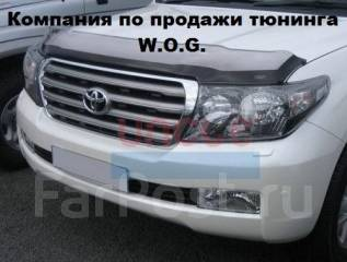 Дефлектор капота. Toyota Land Cruiser
