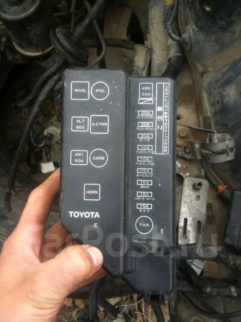 Блок предохранителей. Toyota
