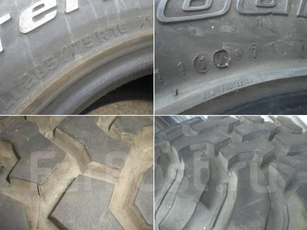 BFGoodrich Mud-Terrain T/A KM. Грязь MT, 2007 год, износ: 10%, 4 шт