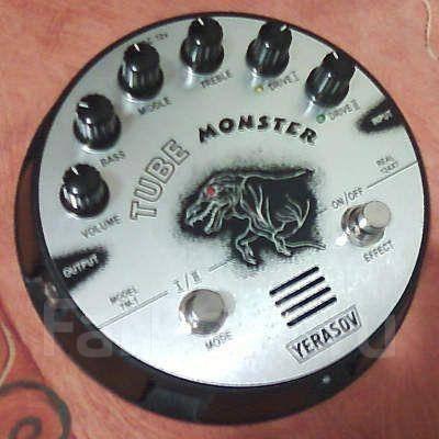 Обзор гитарной педали  Yerasov Tube Monster TM1
