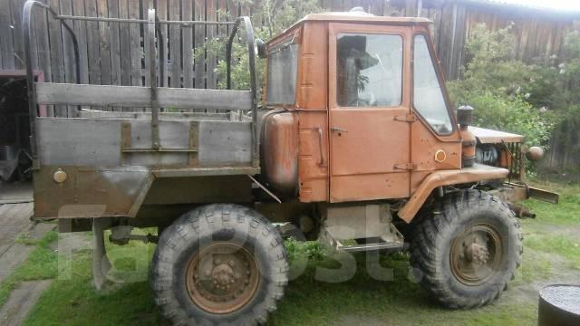 Как сделать трактор с газ-66