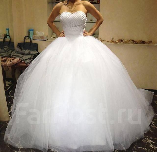 Фото пышных и красивых свадебных платьев