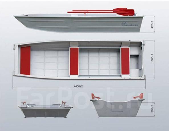 Небольшая плоскодонная лодка с широкой кормой своими руками