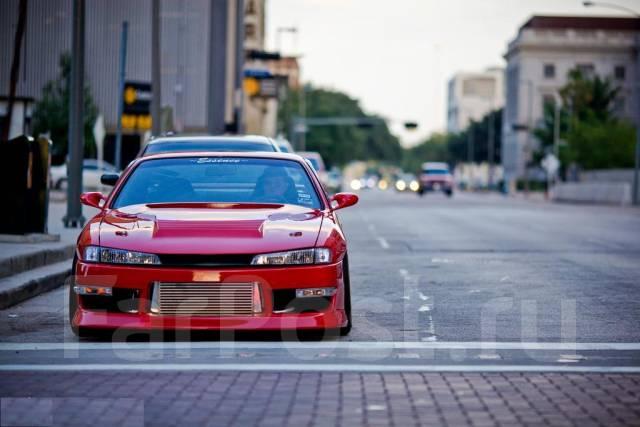 Капот. Nissan 240SX Nissan Silvia, S14 Nissan 200SX